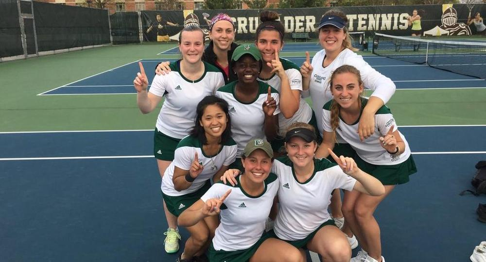 Women's Tennis Captures Horizon League Regular Season Title With 7-0 Sweep At Valpo