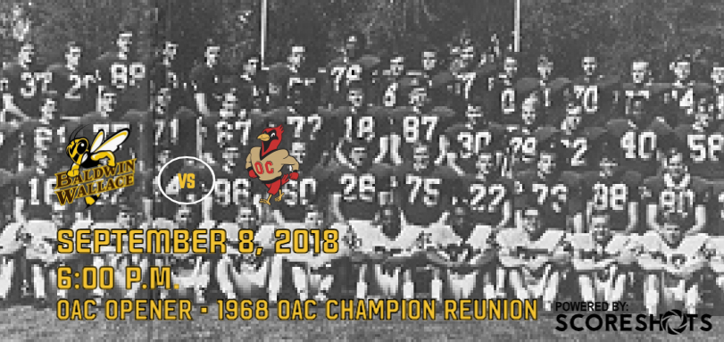 Football Opens OAC Play Against Otterbein on 50th Anniversary of First OAC Championship