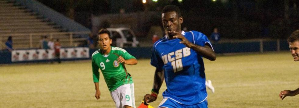 Opoku Leads Gauchos to Season-Opening Win