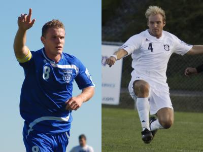 Klukowski and Tyrie Selected to Play in NEISL Senior All-Star Game