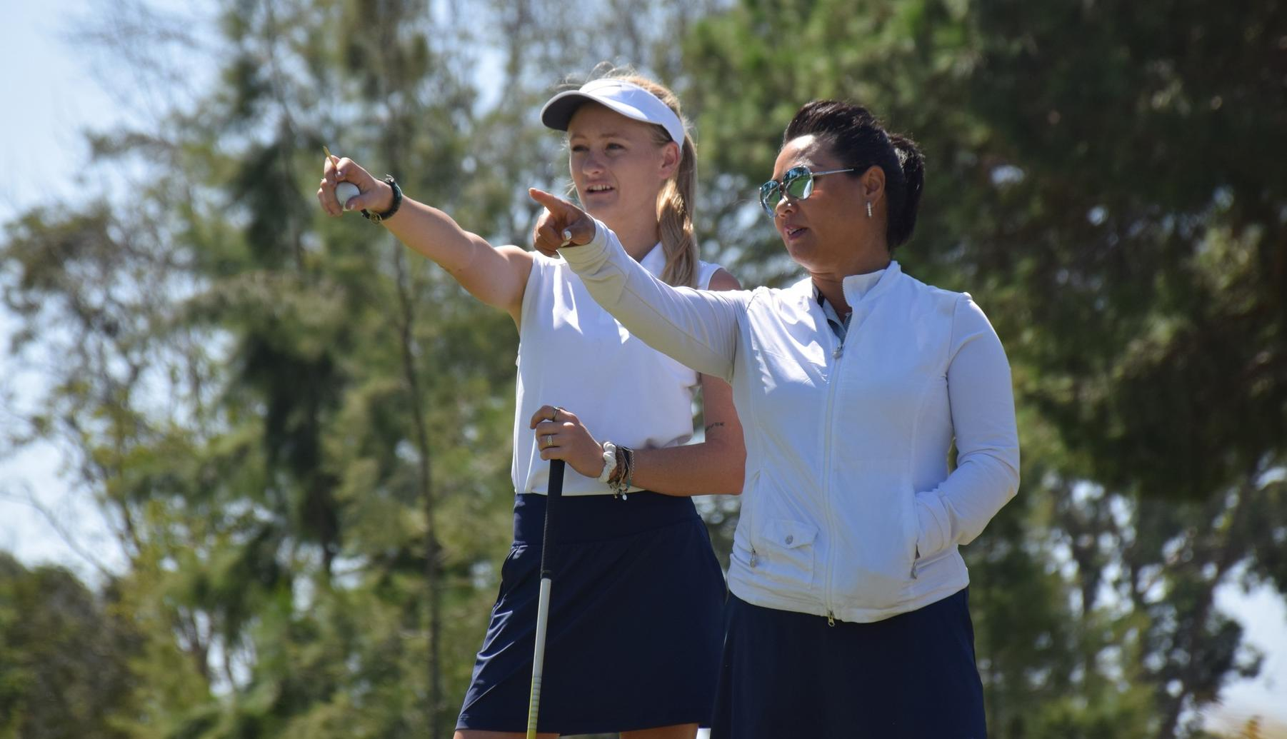 Women's golf team hosts conference match at Tustin Ranch