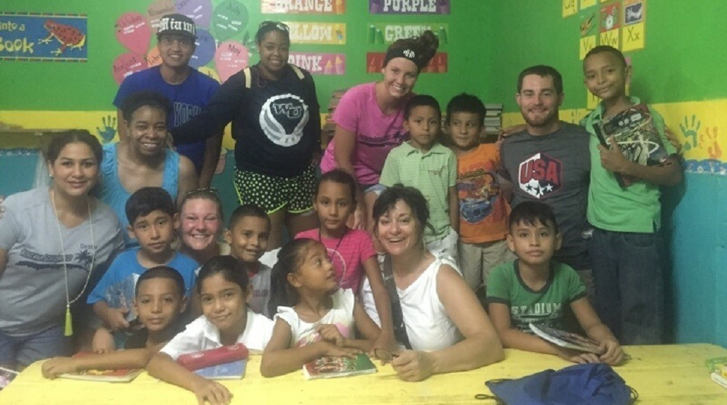 Webster's Holman Gives Helping Hand In Honduras