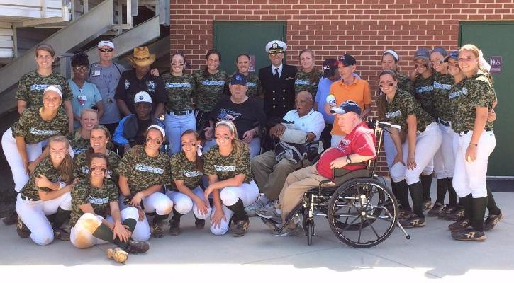 GC Softball Military Day Photo Gallery