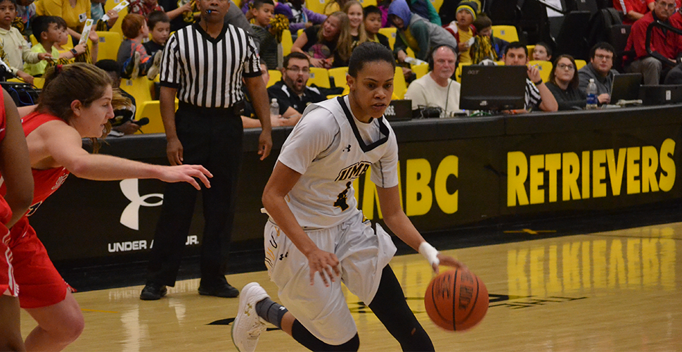 McCarley had 15 points, 8 rebounds and 7 assists as UMBC wins their fourth straight on Wednesday