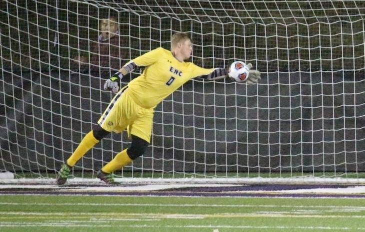 Men's Soccer Suffers 1-0 Setback at Curry