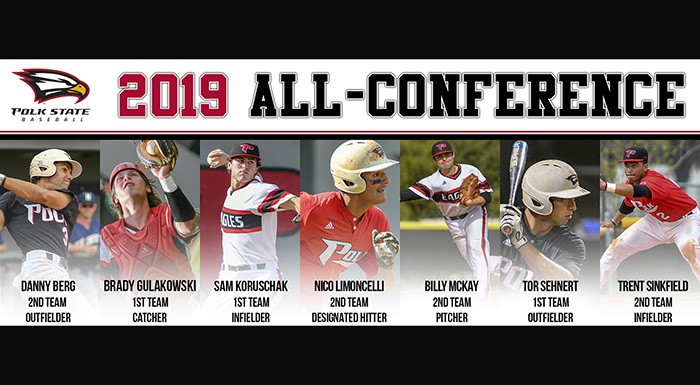 Eagles receive All-Conference honors