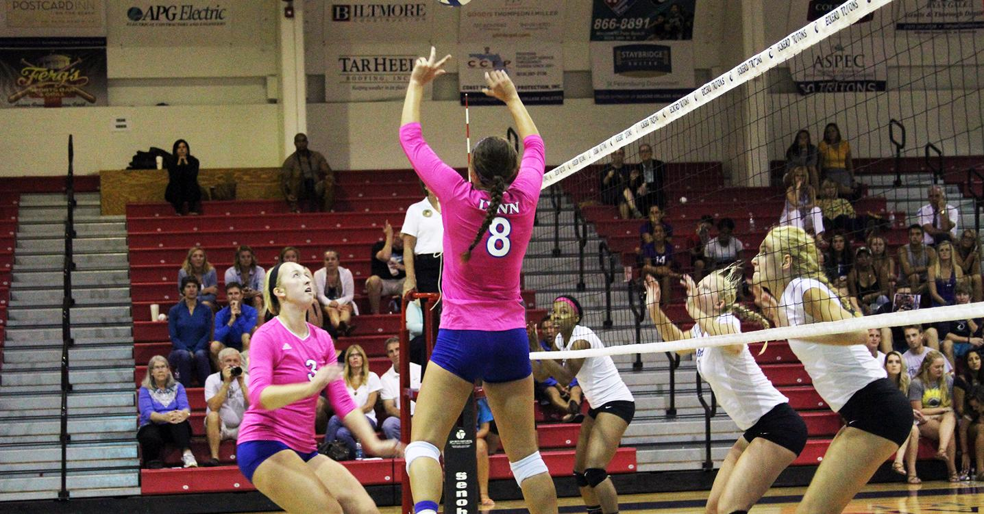 Volleyball Posts Friday Night Sweep over Eckerd