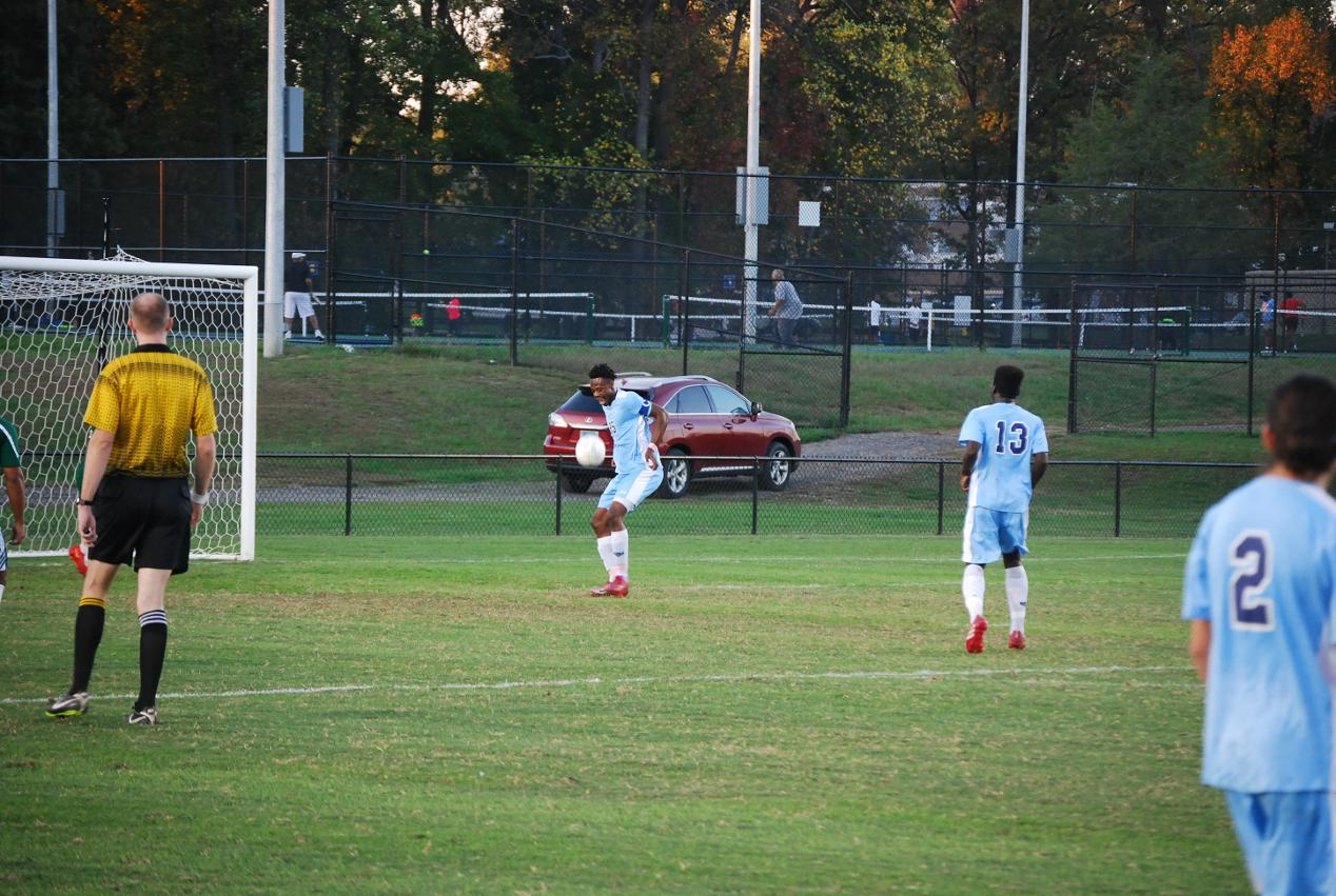 Men's Soccer downs NOVA