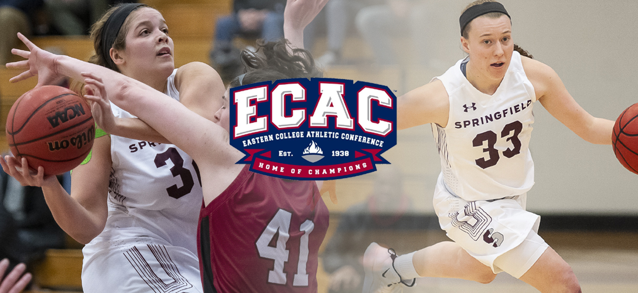 Restituyo and Goslin Named ECAC Women's Basketball All-Stars