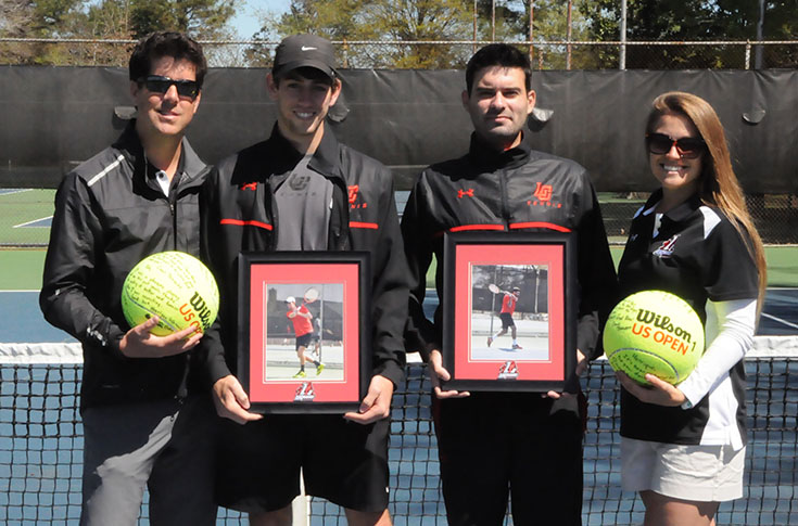 Men's Tennis: Conference-leading Methodist tops Panthers on Senior Day