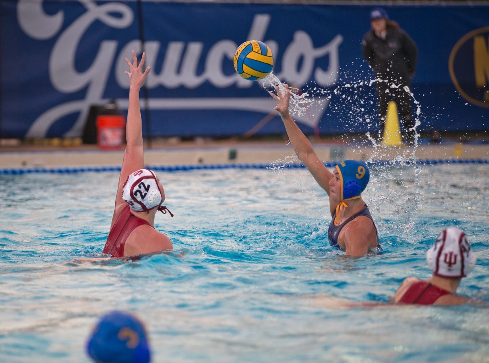 Gauchos Take Down Pair of Top 25 Teams In Day 1 Of 2017 Winter Invitational