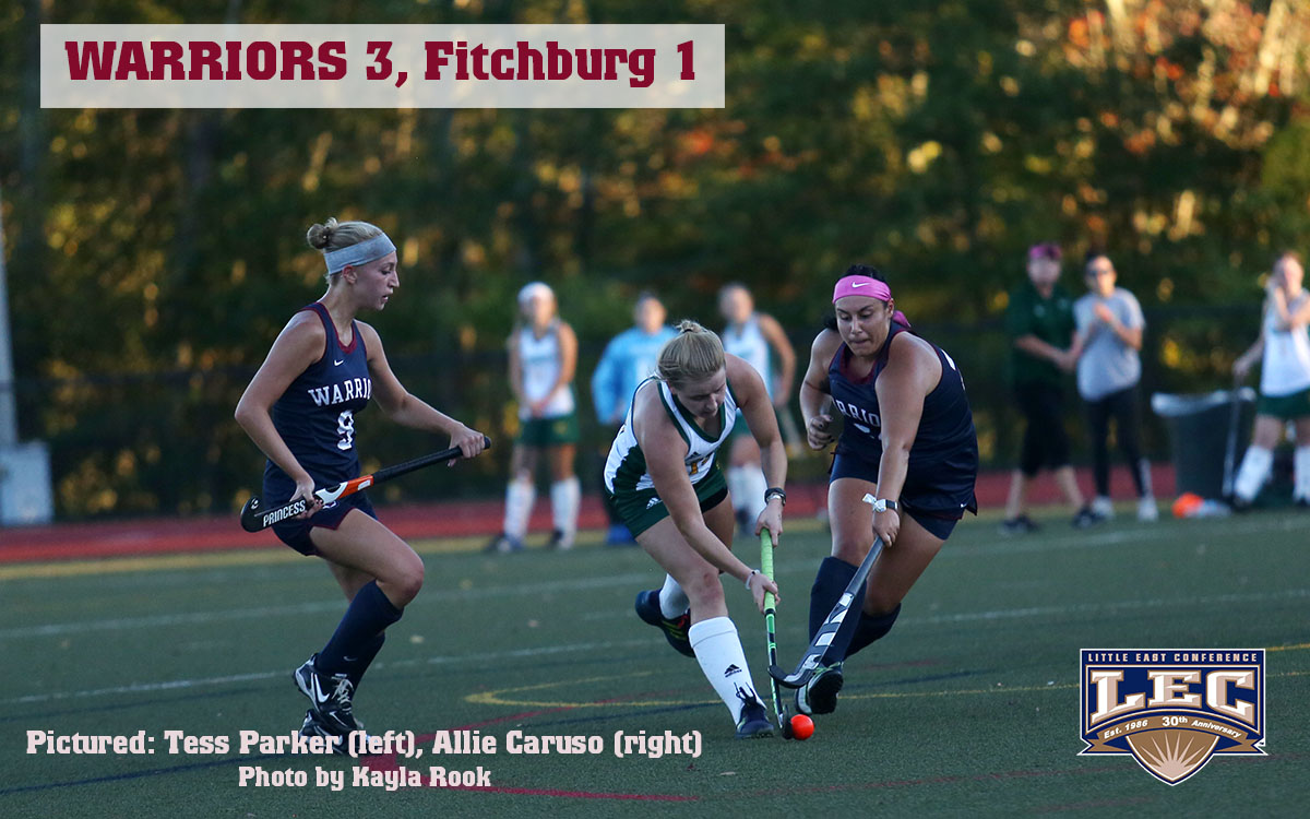 Field Hockey: Many Contribute in Victory as Warriors Surge over .500 in Little East