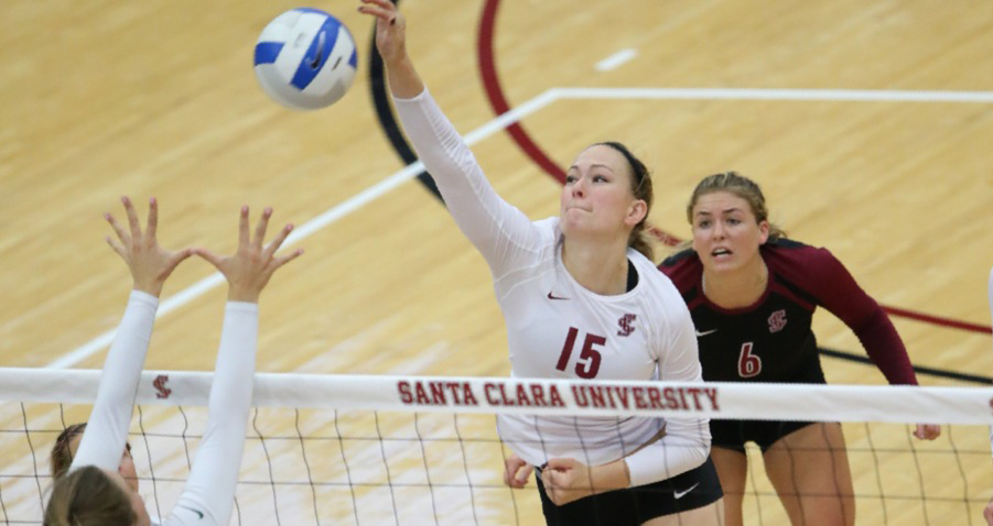 Volleyball Falls In Long Battle At USF