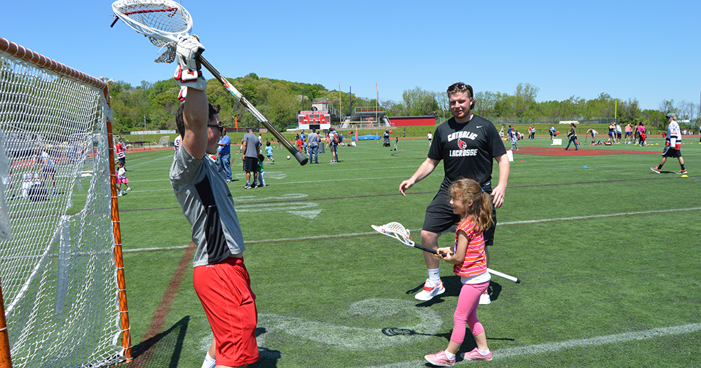Cardinals Host Third Annual Brookland Field Day