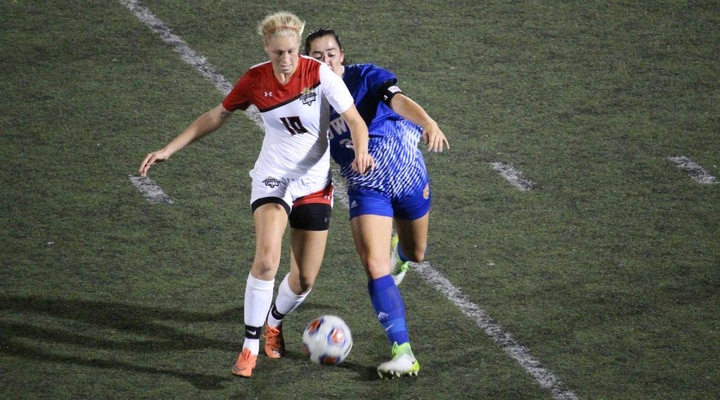 Women's Soccer Drops Monday Night Matchup to Johnson & Wales