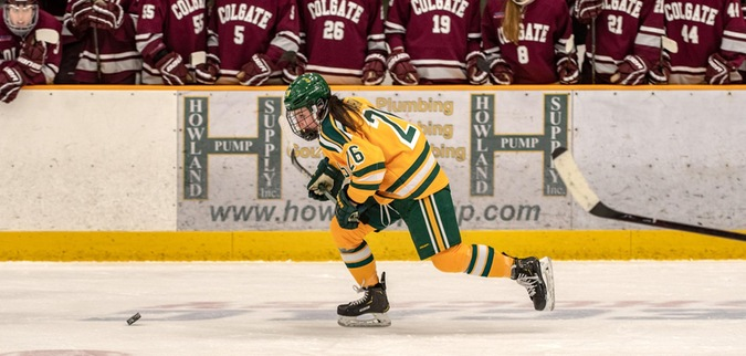 Clarkson loses to No. 10 Colgate in overtime