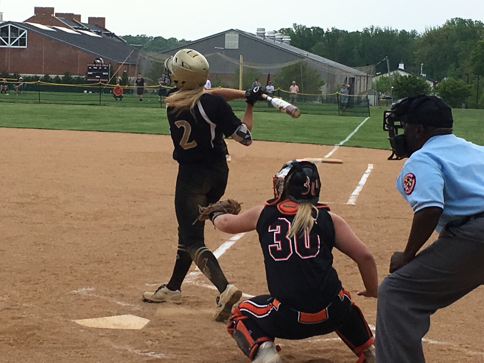 McDonogh edges John Carroll, earns a berth in A Conference softball final