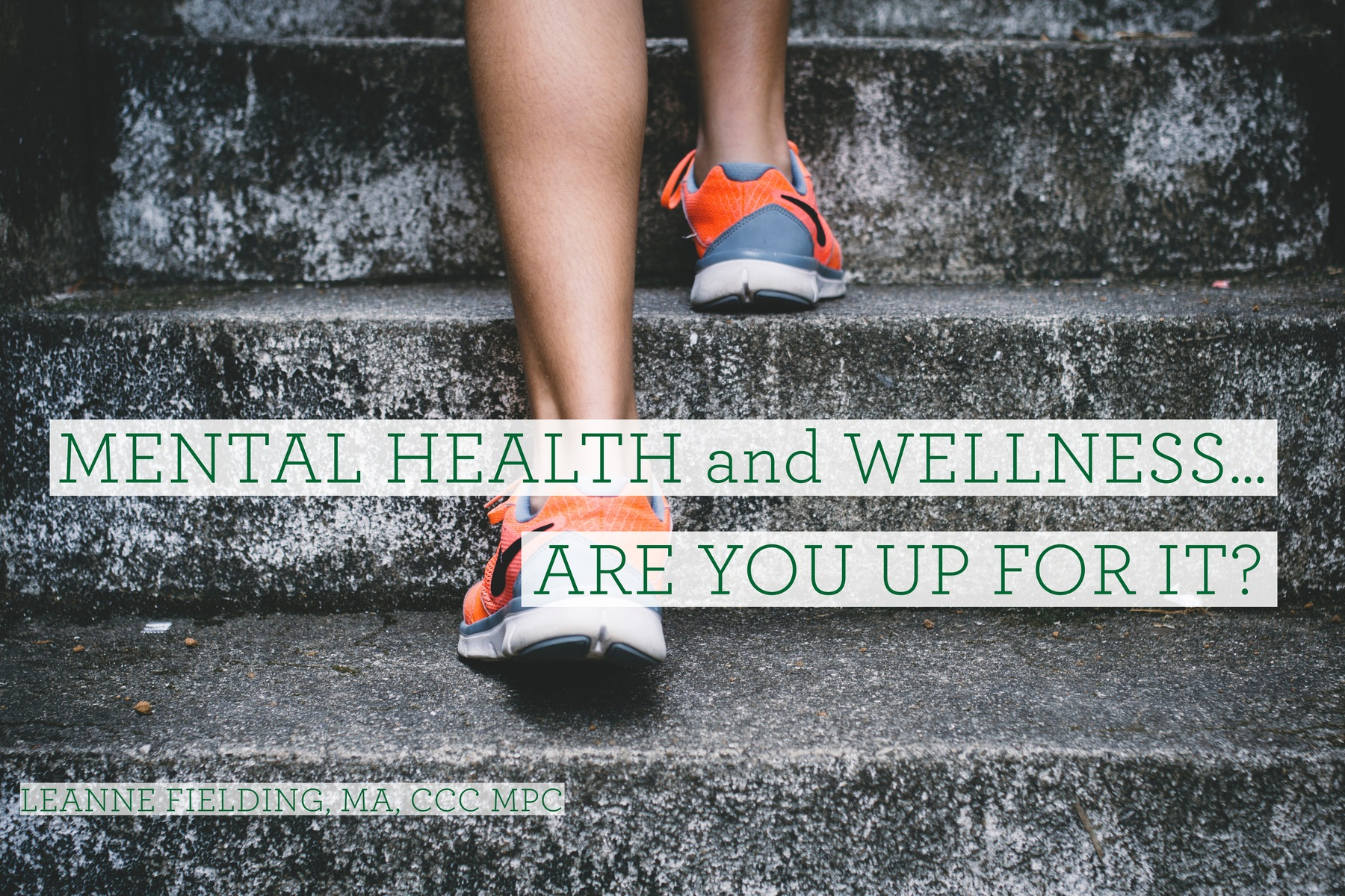 Mental Health And Wellness...