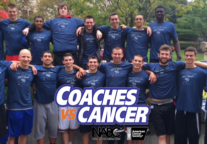Men's Basketball Team Assists With Coaches vs Cancer 5K Classic