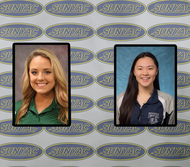 SUNYAC selects Women's Swimming and Diving Athletes of the Week