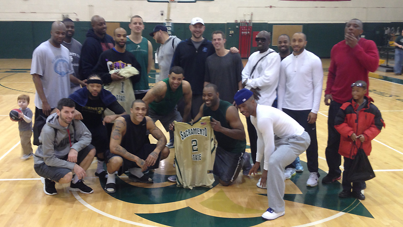 Joel Jones Scores 35 Points to Highlight Fifth-Annual Set of Men's Basketball Alumni Games