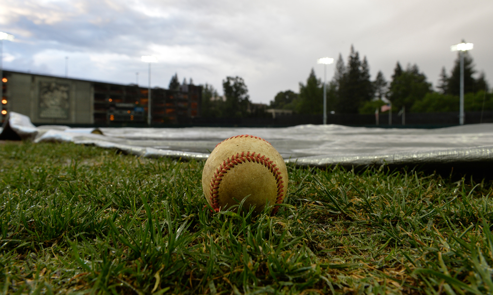 BASEBALL SERIES OPENER AT #11 WASHINGTON RAINED OUT