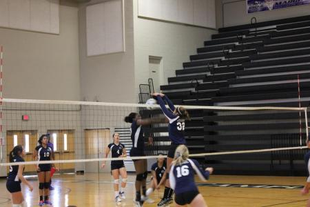 Women's Volleyball Splits a Pair of PSUAC Matches