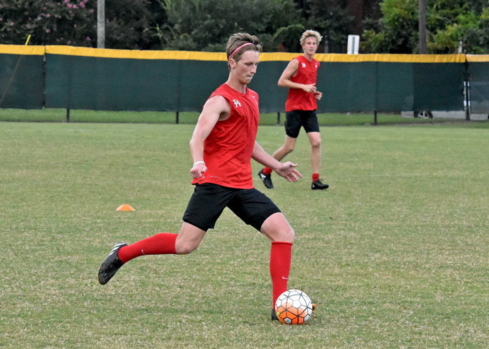 Cam Smith is one of five seniors leading the Huntingdon men's soccer team this season.