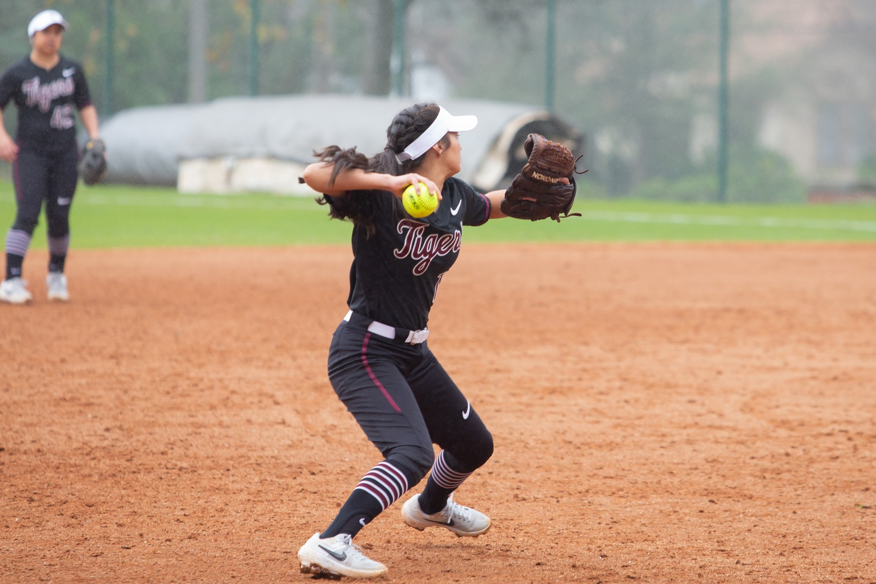 Tiger Softball Sweeps Hardin-Simmons in Saturday Doubleheader