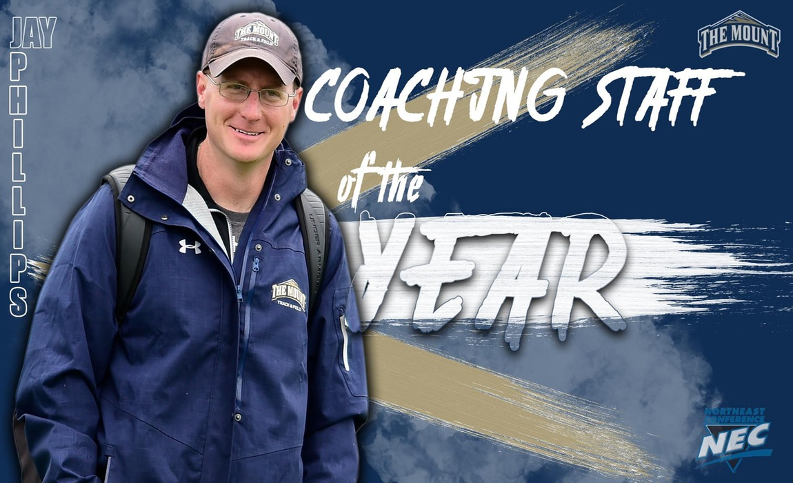 Jay Phillips and Staff Named Northeast Conference Outdoor Track and Field Coaching Staff of the Year