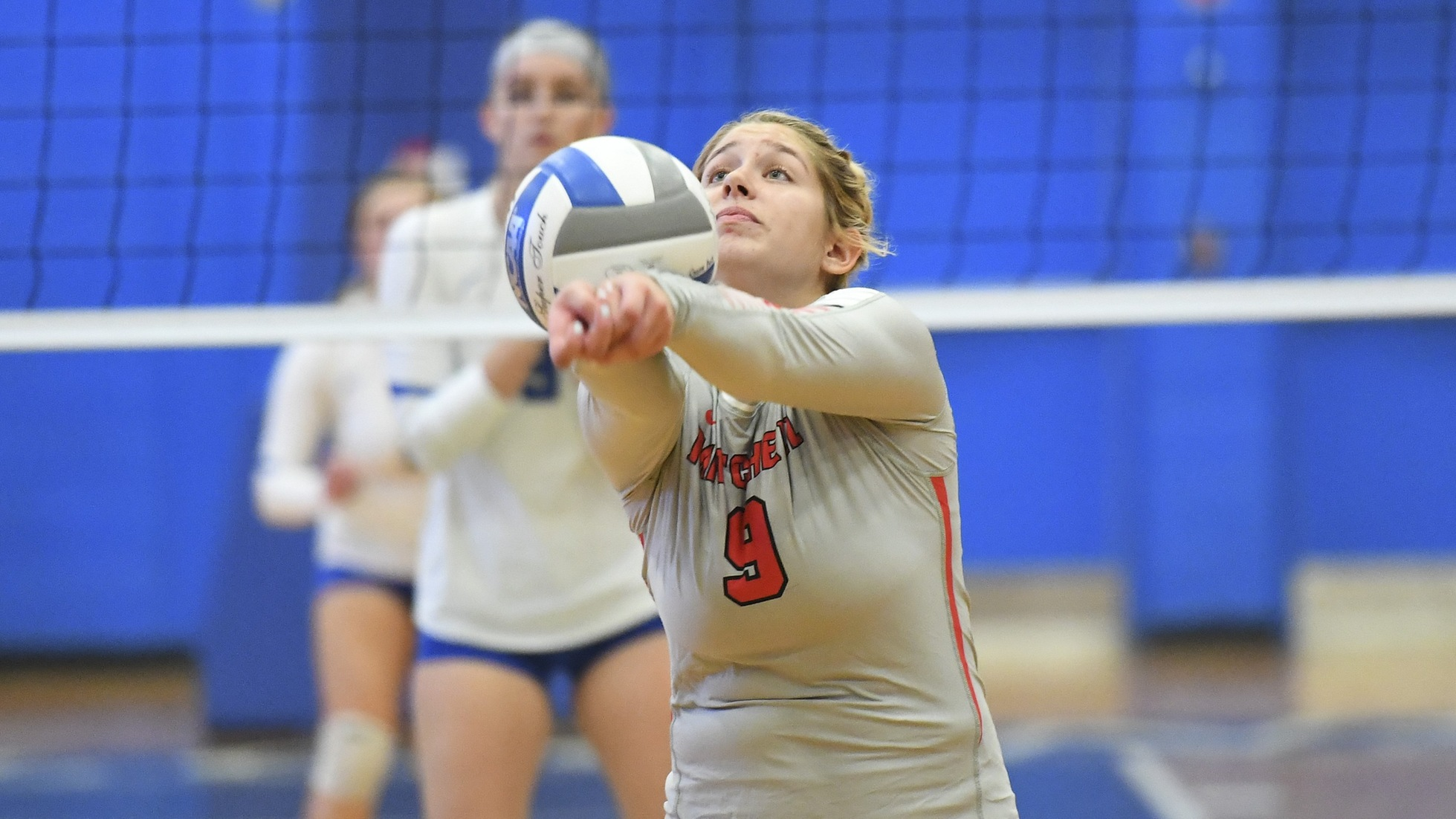 Volleyball Falls to Trinity in Three Sets