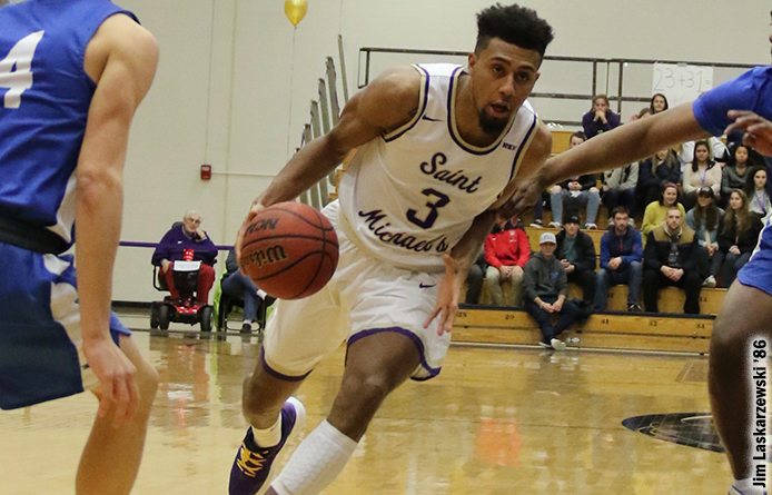 Men's Basketball Caps Campaign with Loss to Regionally-Ranked Merrimack
