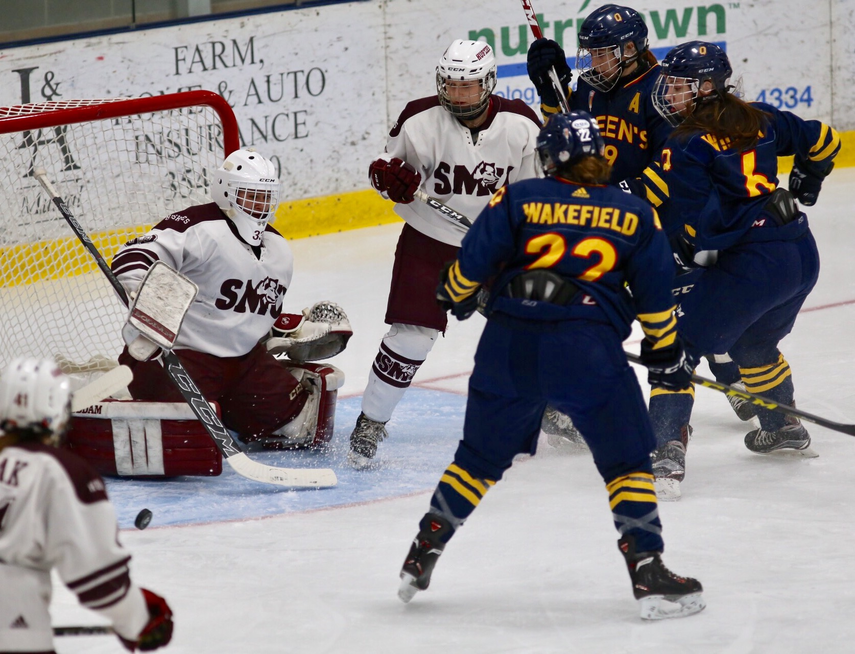 5th place 2017 U SPORTS Women's Hockey Championship: Huskies take down host Gaels 4-1 for fifth-place finish
