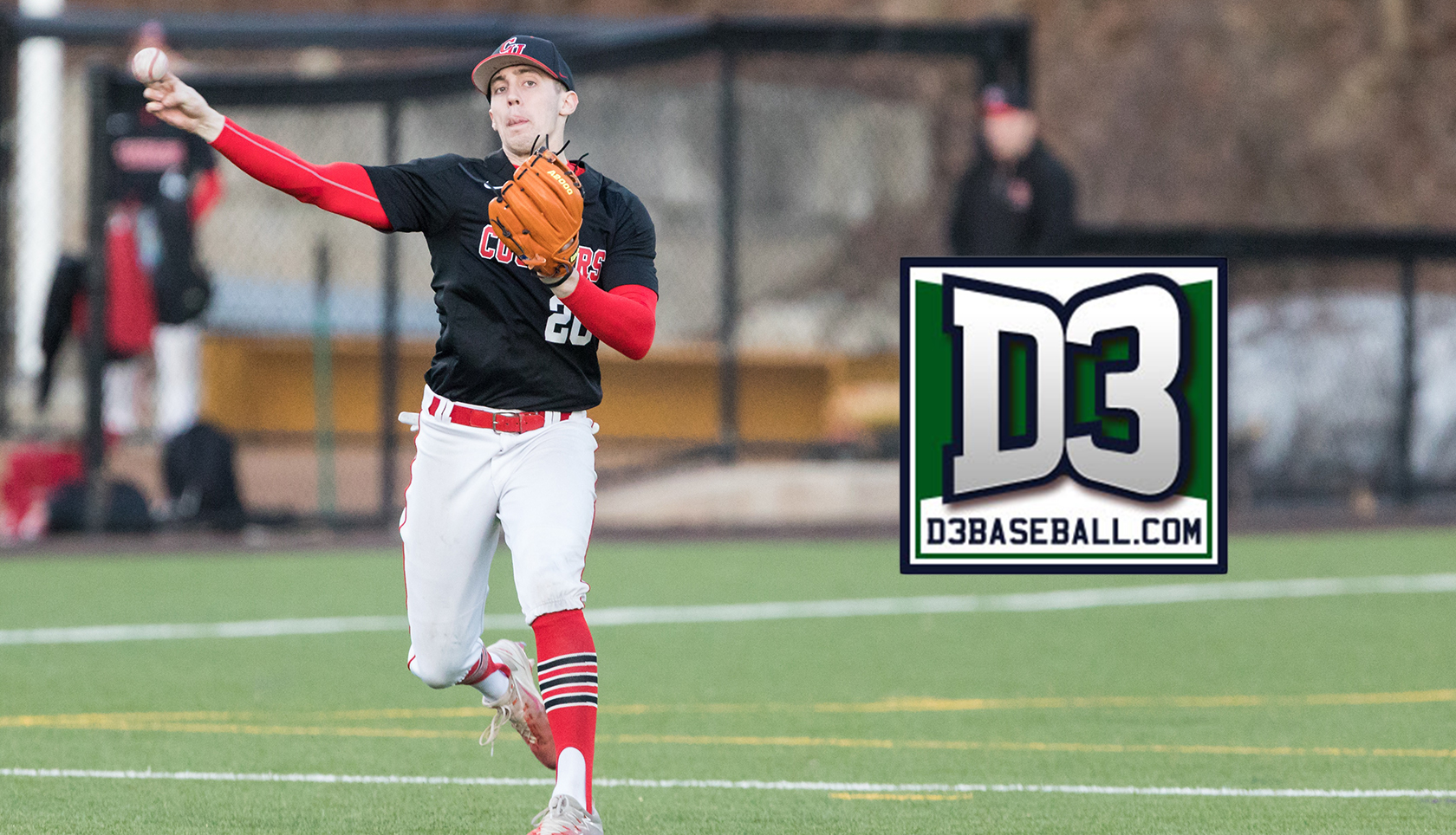 Downing Named to D3baseball.com All-New-England Region Second Team