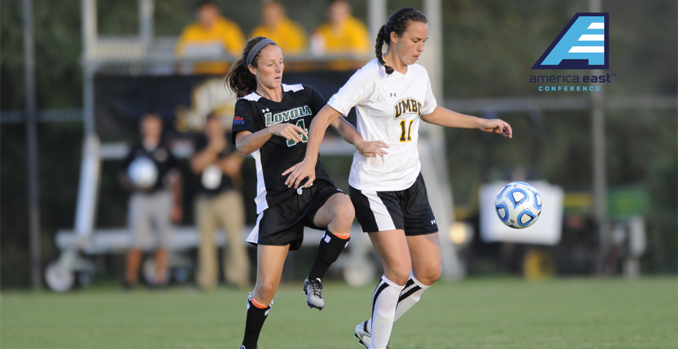 Women's Soccer's Jessy Brown Named America East Player of the Week; Retrievers Take on American on Tuesday