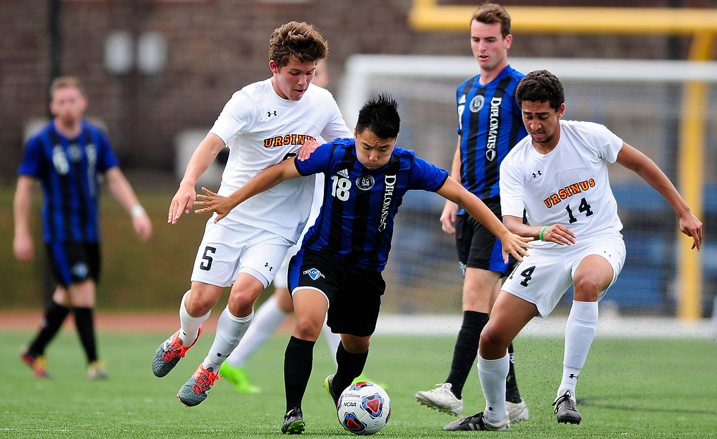 Men's Soccer Erupts for Five Goals Against Ursinus
