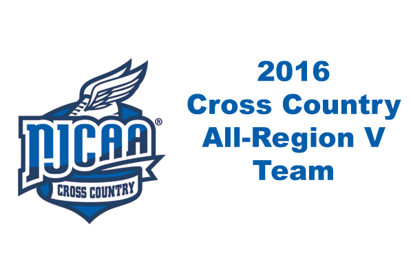 All Region V Cross Country Team
