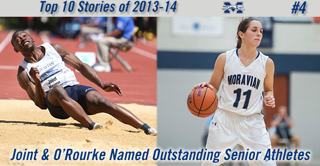 Top 10 Stories of 2013-14 - #4 Joint & O'Rourke Named Outstanding Senior Athletes