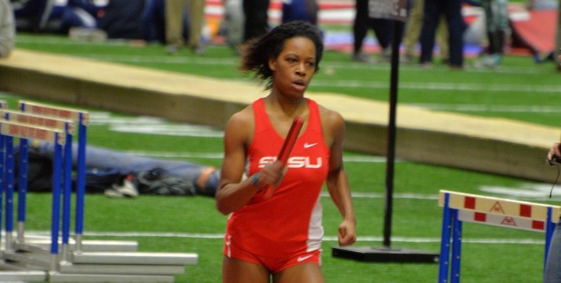 Ce'Aira Richardson has been named the GLIAC Women's Track Athlete of the Week...