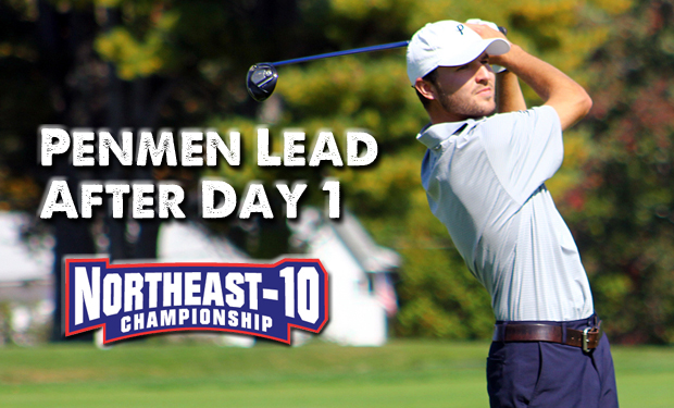 Penmen Lead NE-10 Men's Golf Championship After Opening Round