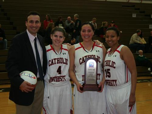 No. 1 Cardinals Down No. 2 McDaniel 75-63 for First-Ever ECAC Title