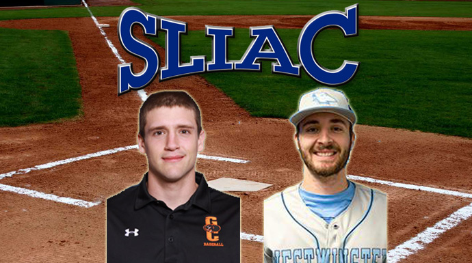 SLIAC Baseball Players of the Week - May 2