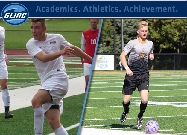 GLIAC Men's Soccer Players of the Week - Week 8