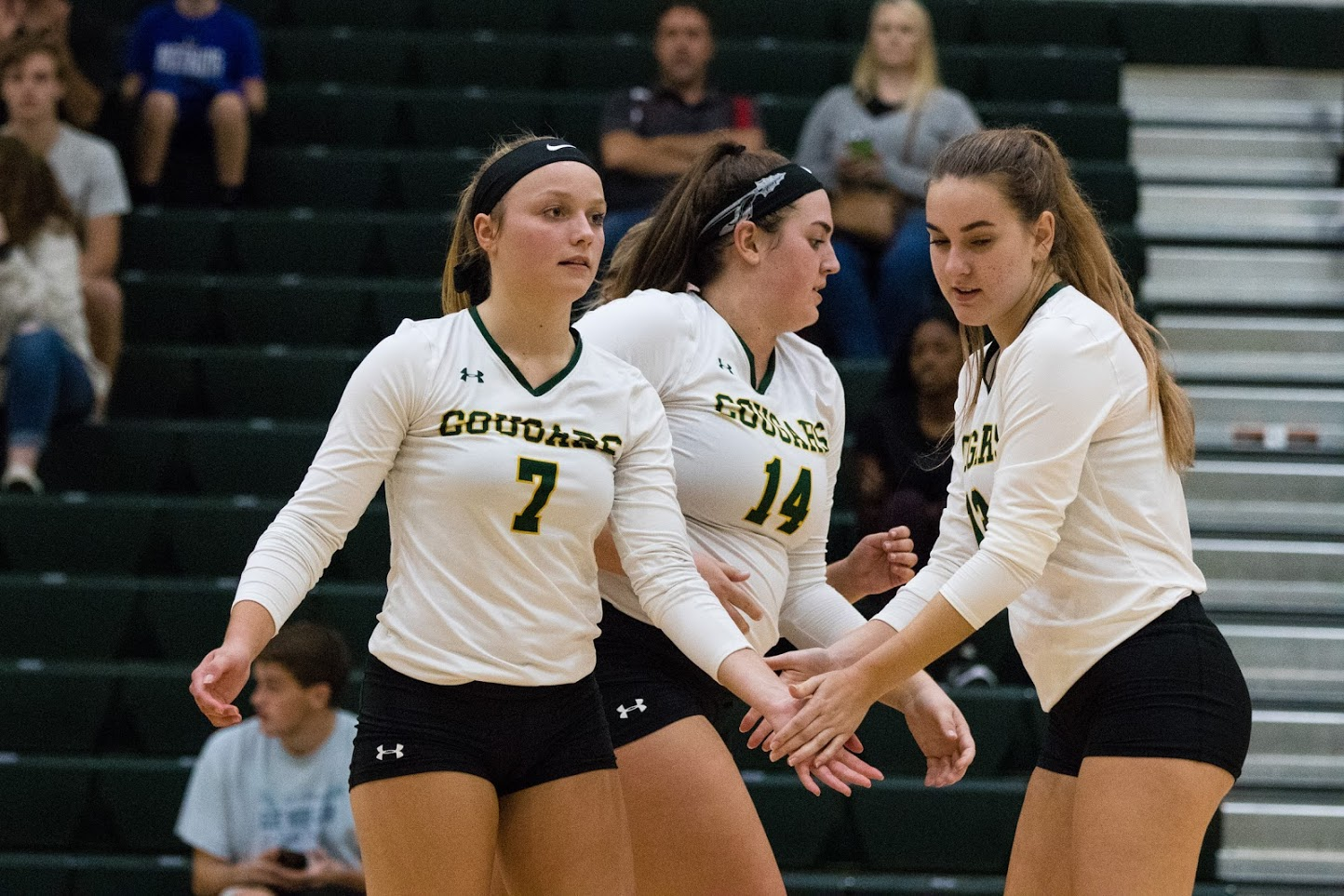 FCC volleyball sweeps Garrett College in conference clash