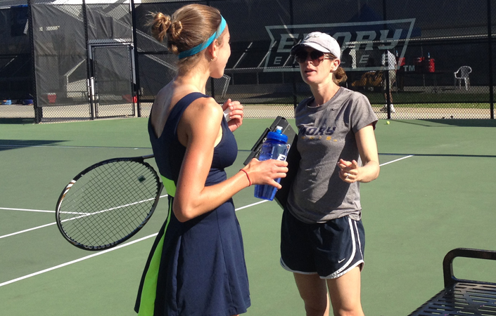 Emory Women's Tennis Class of '17 Ranked 18th Among Mid-Majors