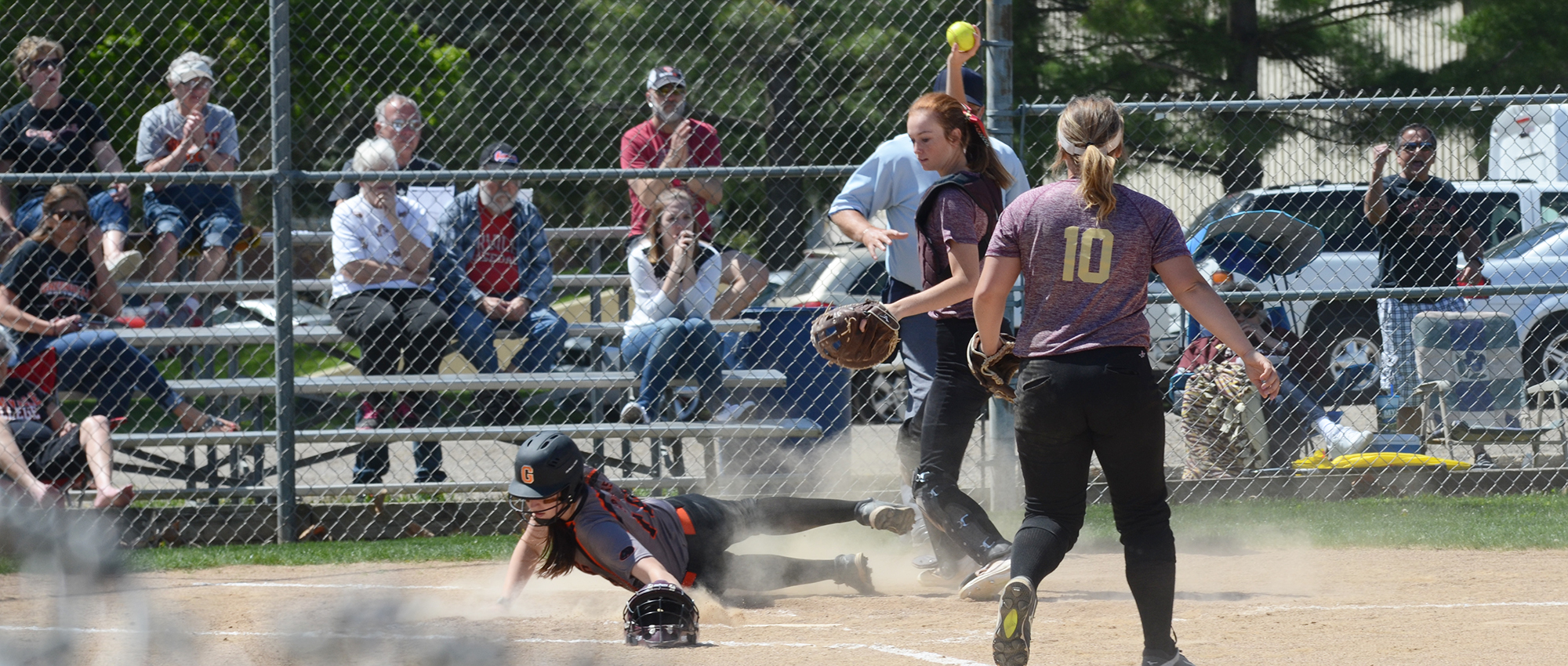 Greenville Halts Red Devils' Win Streak With Sweep