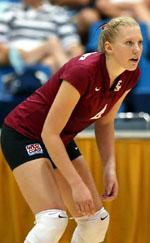 No. 14 Volleyball Sweeps San Francisco