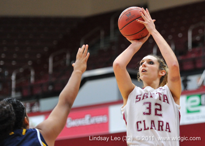 Santa Clara Women Roll In Season Opener, 77-54