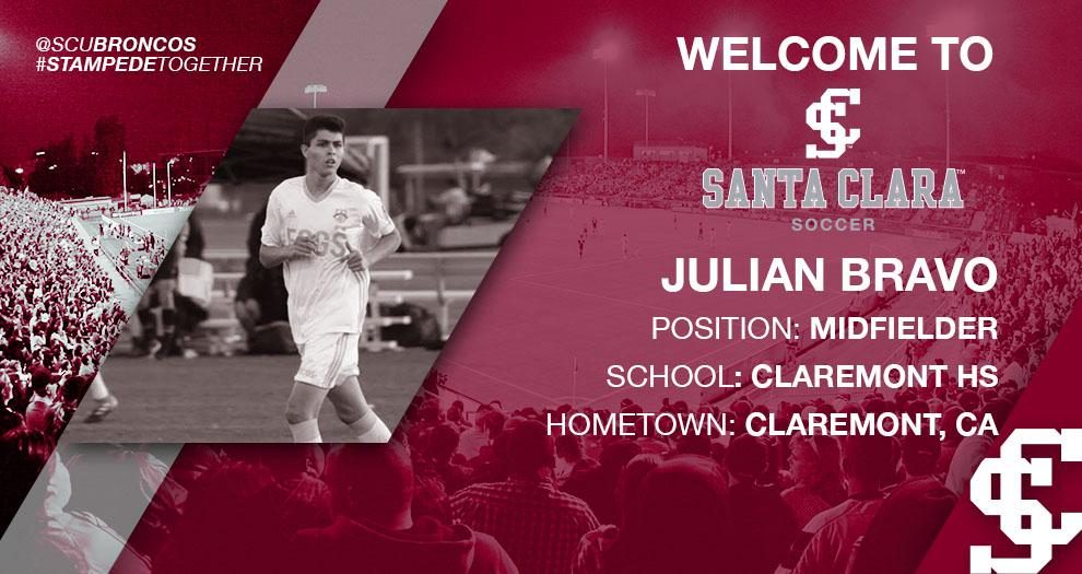 Meet the Future of Bronco Men's Soccer – Julian Bravo