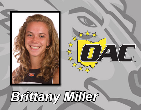Brittany Miller named Ohio Athletic Conference Women's Tennis Player of the Week
